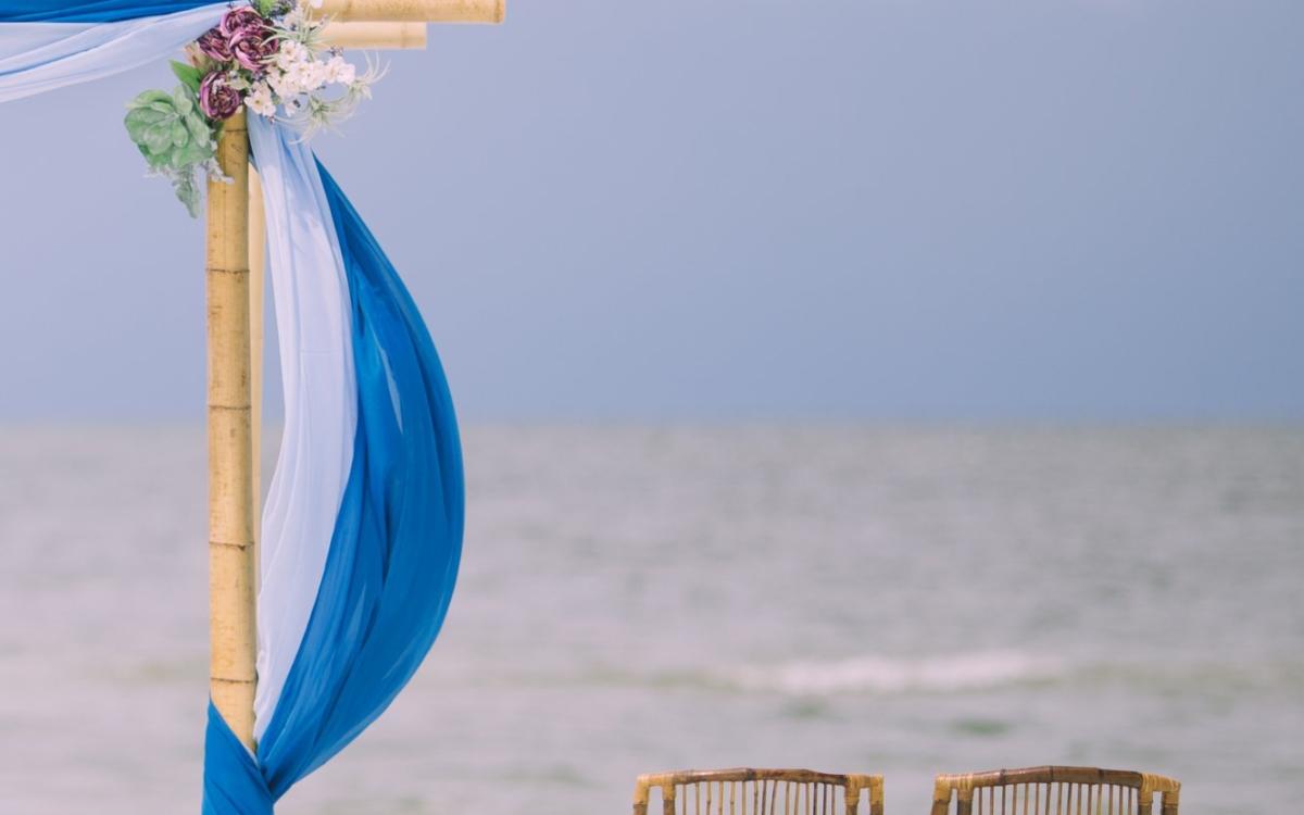 Ötletek tengerparti esküvői dekorációra