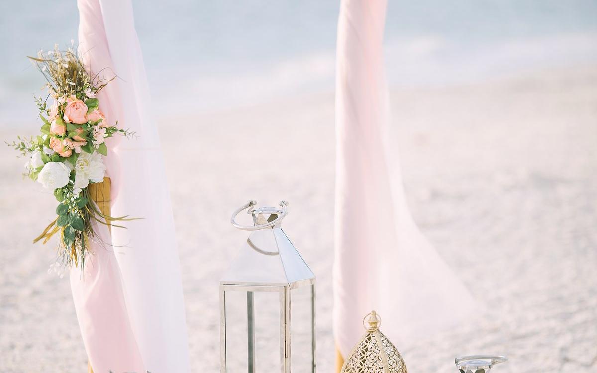 Rózsaszín Esküvő Dekoráció