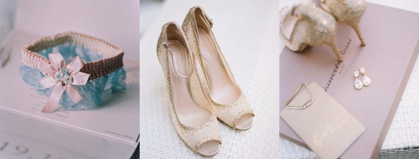tengerparti esküvő cipő ruha