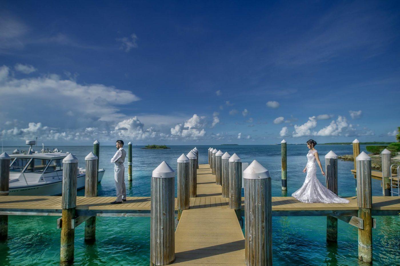 key west tengerparti esküvő