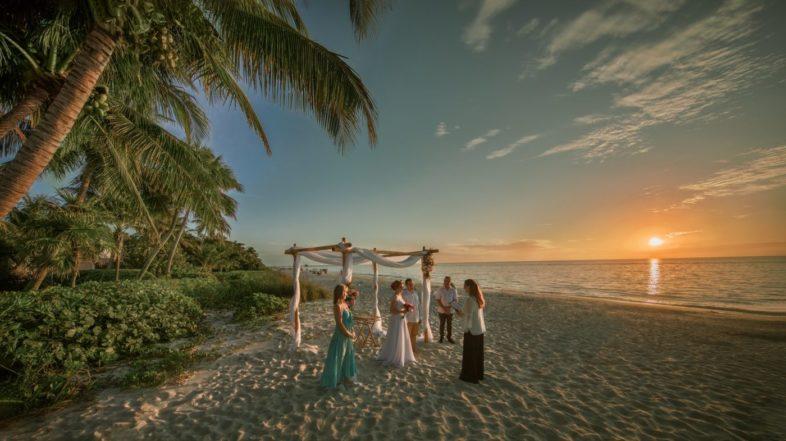 tengerparti esküvő Miami esküvő esküvők Miamiban