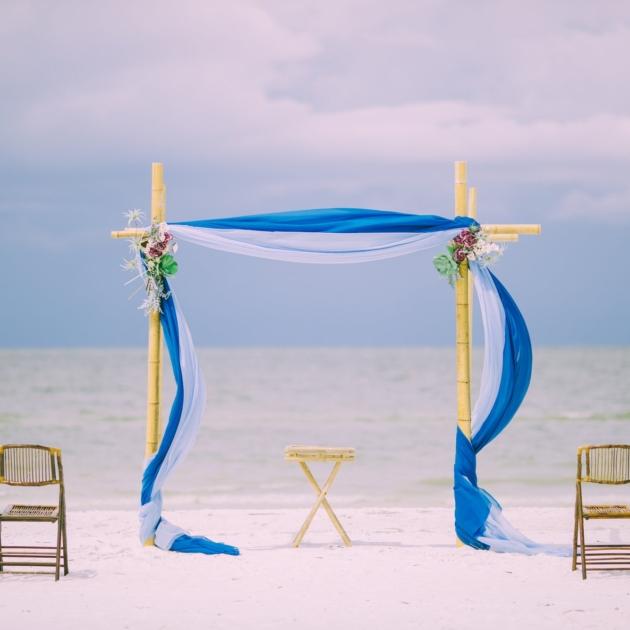 tengerparti esküvő megfizethető olcsó árak dekoráció